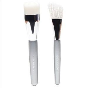 Cosmetic skincare brush set